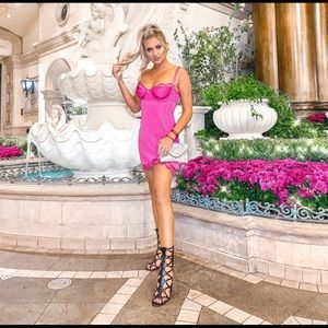 For Love and Lemons Laurel Slip Dress VS